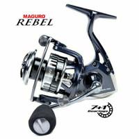 Reel Spinning MAGURO REBEL 7+1 Ball Bearing Power Handle