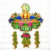 Gantungan Hiasan Dekorasi Dinding Rumah Parcel Lebaran Idul Fitri M62