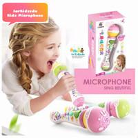 MAINAN MIKROPON ANAK KIDS SINGER MICROPHONE MIC NYANYI ANAK