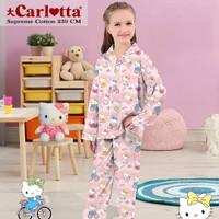Piyama Anak Katun Tangan Panjang Hello Kitty Playtime Usia 1-12 tahun
