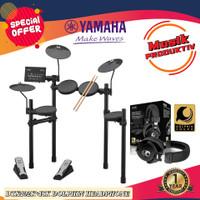 Yamaha drum elektrik dtx402k + ISK dolphin headphone