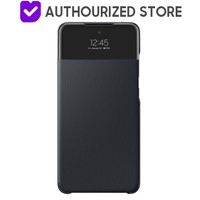 Smart S View Wallet Cover A52 Black Original