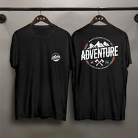 Kaos Distro Pria TP Adventure Gunung DB Atasan Pria Kaos Pria T-shirt