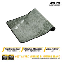 Asus TUF Gaming P3 Durable Mouse Pad with Cloth Surface, Stitched Edge