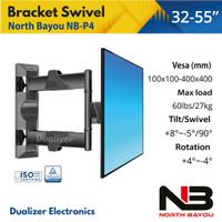 Bracket Braket Breket TV Swivel LED 32 40 42 43 46 47 49 50 52 55 Inch