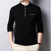 Baju Kaos Pria Nufail Bahan Cotton Combed Lengan Panjang Model Terbaru