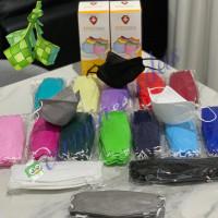 [ KINGMASK ] Masker Korea KF94 Premium 4 Ply Isi 20 Pcs IZIN KEMENKES - Putih