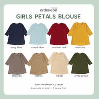 Ardenleon Raya Petals Blouse / Baju Lebaran anak