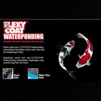 cat kolam flexy coat waterponding 2.5kg set