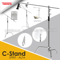 Takara SPIRIT ALFA C-Stand Stainless Steel Studio Lighting Photograpy