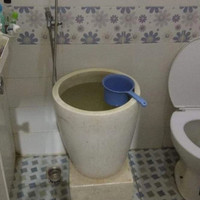 Bak mandi minimalis   Terrazzo mungil