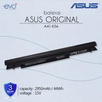 Baterai ORIGINAL Asus A46C A46CA A46CB A46CM A46 K46CA A41-K56