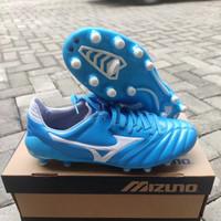 Sepatu Bola Mizuno Morelia Neo2 Light Blue white Fg - Sepatu Soccer