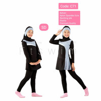 Baju renang anak tanggung wanita muslimah 9-13 tahun perempuan muslim