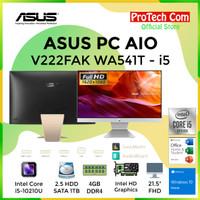 ASUS PC AIO V222FAK WA541T - i5 10210U 4GB 1TB 21,5 FHD WIN10 RESMI