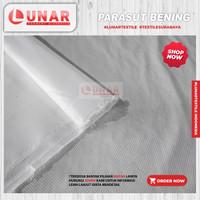 Kain ANTI AIR Parasut Putih Bahan Jaket outdoor Waterproof Murah