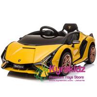 Lamborghini Sian Lisensi Mobil Aki Anak