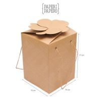 Clover Box Isi 3 Toples Cokelat - 640 Pcs - JS Luwansa