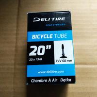 ban dalam sepeda pentil presta 16 349 43mm 20 406&20 451 51,5mm Deli T