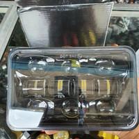 lampu depan led daymaker gl rx king win bentuk kotak variasi motor