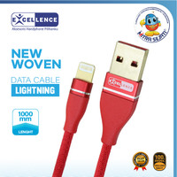 Kabel Data Lightning USB Excellence New Woven - 1KDAIP6GNW1ME