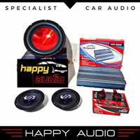 Paket Audio Mobil Full Set Hollywood Terbaik Termurah Original