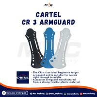 Cartel CR 3 Armguard Arm Guard busur panahan anak panah fingertab bow