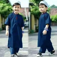 Setelan baju Koko Pakistan anak laki-laki usia 1-12 thn yang termurah