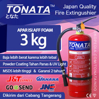 APAR 3KG TONATA / FOAM 3 KG / Set Komplit