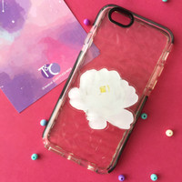 Popsocket / Phone Accessories - White Peony