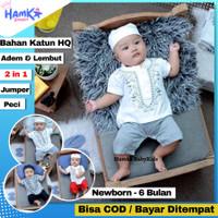 Baju Koko Bayi Laki Laki 0 6 Bulan Newborn New Born Romper Murah Ozuka