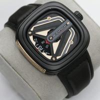 Jam Tangan Pria Seven Friday Premium - black gold