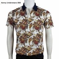 Kaos Polo Batik Pria Dewasa Saku Terbaru Import MILLER NEUMAN 3 Varian