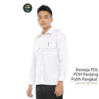 Baju Pdh Putih Kemeja Putih Lengan Panjang Baju PDH PNS/Pemda Panjang