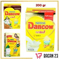 Dancow FortiGro ( 200 gr ) / Instant Cokelat-Full Cream / Susu Bubuk