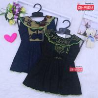 Dress Batik uk Bayi 0-12 Bulan / Dres Anak Perempuan Pakaian Baju Atas