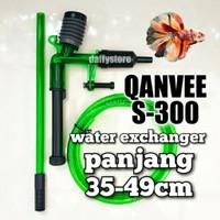 QANVEE S300 penyedot air aquarium