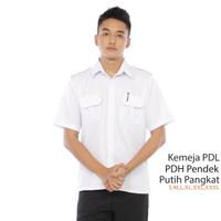Kemeja Putih Baju pdh Pegawai Negeri sipil Atasan Pns Atasan puti