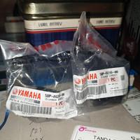 end grip jalu stang bandul rx king scorpio original yamaha 2piece