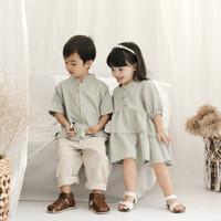 Willow Shirt | Kemeja Koko Lebaran Anak Laki-Laki Little Fol