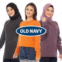 Outer Baju Switer Sweater Crewneck Rajut Cewek Wanita Original Terbaru