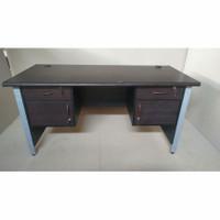 Meja 1 Biro L print, Meja kantor murah, meja murah