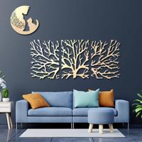 wall art. custom hiasan dinding ruang tamu cutting lucu