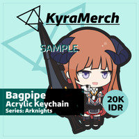 Keychain Arknights Bagpipe