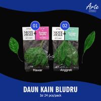 Daun Kain Bludru - Daun Imitasi isi 24 pcs