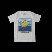 Baju Anak Kaos Band Nirvana Nevermind Simpson Putih
