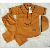 Setelan baju Koko anak laki-laki model kekinian untuk usia 1-10 tahun