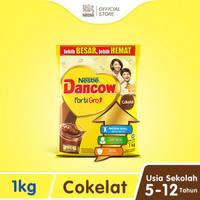 Nestlé DANCOW FortiGro Susu Bubuk Cokelat Usia Sekolah Pouch 1 kg