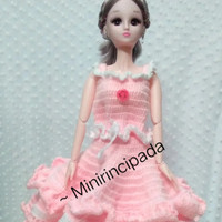 Baju rajut boneka bjd/barbie 60cm / ( 1/3 )