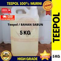 Teepol 5 KG / Bahan Sabun / pembersih serbaguna / Pembersih Minyak